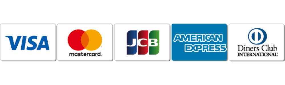 お支払い方法(提携カード決済):VISA、mastercard、JCB、AMERICANEXPRESS、DinersClub INTERNATIONAL
